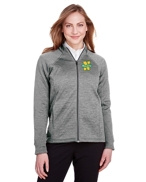 North End Ladies Flux 2.0 Full-Zip Jacket