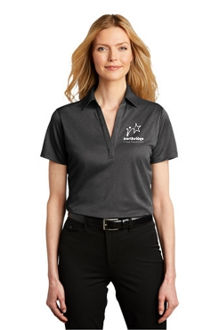 Port Authority® Ladies Heathered Silk Touch™ Performance Polo